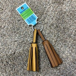 Free with any purchase! Old navy tassel keychain